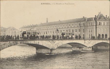 Épinal, La Moselle au Pont Carnot