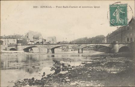 Épinal, Pont Sadi-Carnot et nouveau Quai