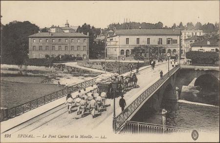 Épinal, Le Pont Carnot et la Moselle