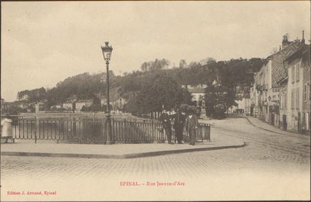 Épinal, Rue Jeanne-d'Arc