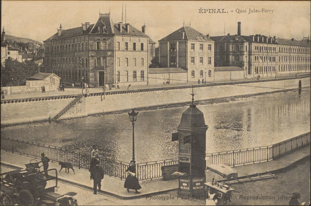 Épinal, Quai Jules-Ferry
