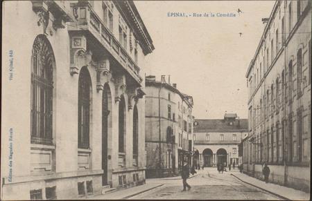 Épinal, Rue de la Comédie