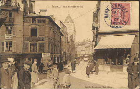 Épinal, Rue Léopold-Bourg