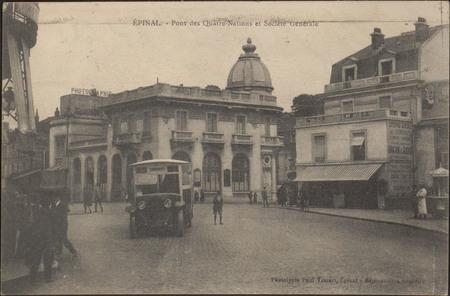 Épinal, Pont des Quatre-Nations et Société Générale