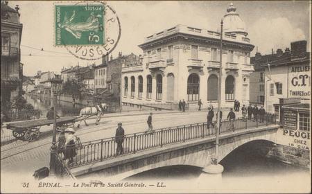 Épinal, Le Pont et la Société Générale