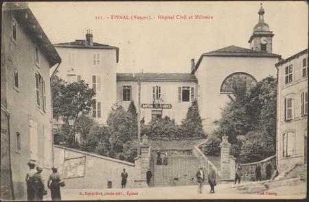 Épinal (Vosges), Hôpital Civil et Militaire