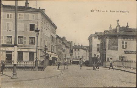 Épinal, Le Pont du Boudiou