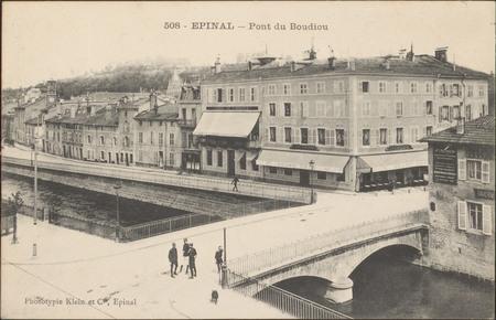 Épinal, Pont du Boudiou