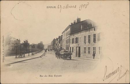 Épinal, Rue des Bons Enfants