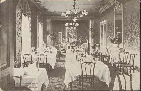Épinal, Grand Hôtel, Une des Salles à Manger