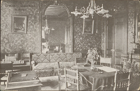 Épinal, Grand Hôtel, Le Fumoir