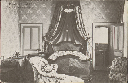 Épinal, Grand Hôtel, Une des Chambres à coucher