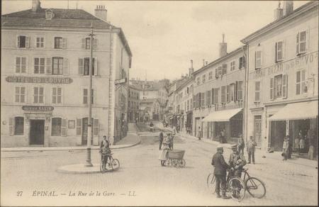 Épinal, La Rue de la Gare