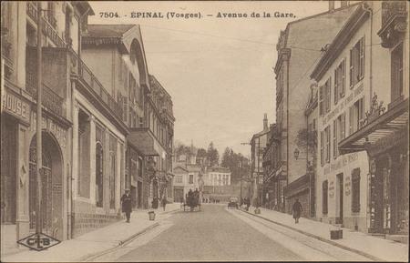 Épinal (Vosges), Avenue de la Gare