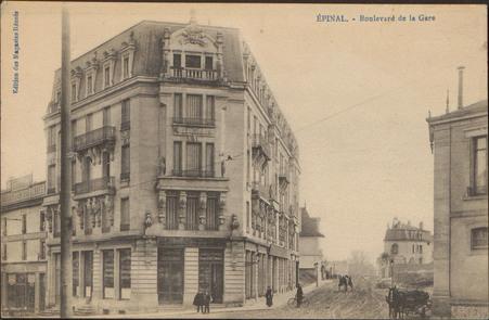 Épinal, Boulevard de la Gare