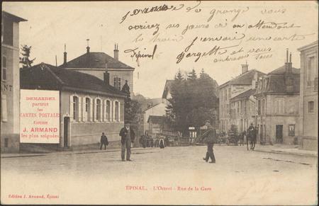 Épinal, L'Octroi, Rue de la Gare