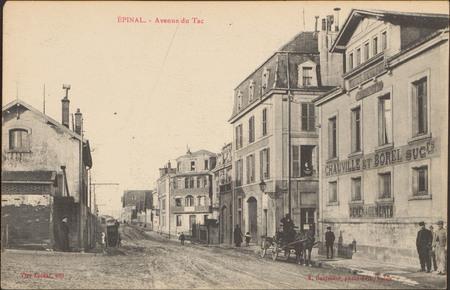 Épinal, Avenue du Tac