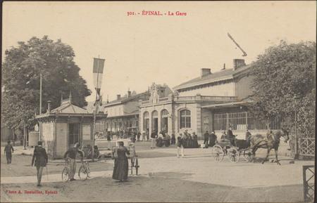Épinal, La Gare