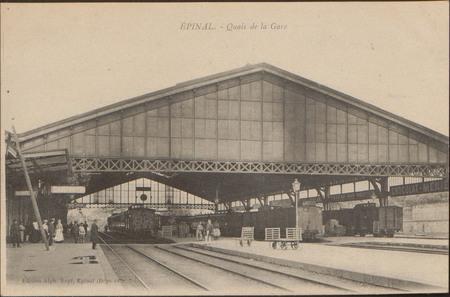 Épinal, Quai de la Gare