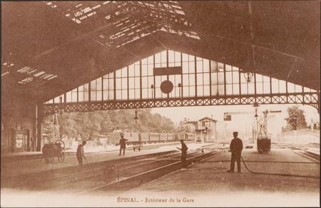 Épinal, Intérieur de la Gare
