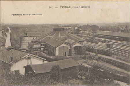 Épinal, Les Rotondes