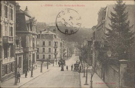 Épinal, La Rue Boulay-de-la-Meurthe