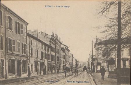 Épinal, Rue de Nancy