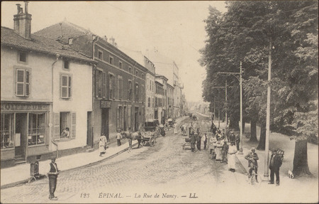 Épinal, La Rue de Nancy