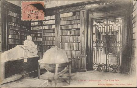 Épinal, Bibliothèque, Vue d'une salle
