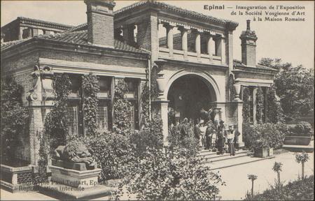 Épinal, Inauguration de l'Exposition de la Société Vosgienne d'Art à la Ma…