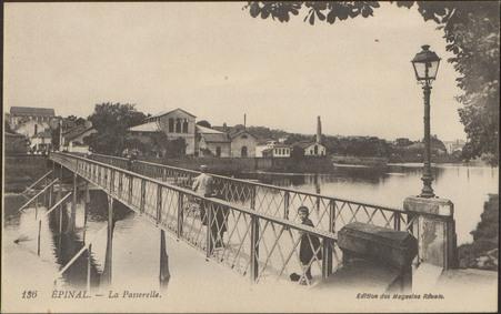 Épinal, La Passerelle
