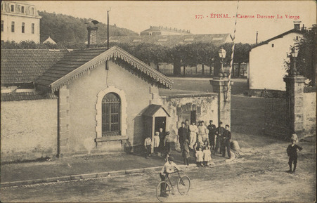 Épinal, Caserne Dorsner La Vierge