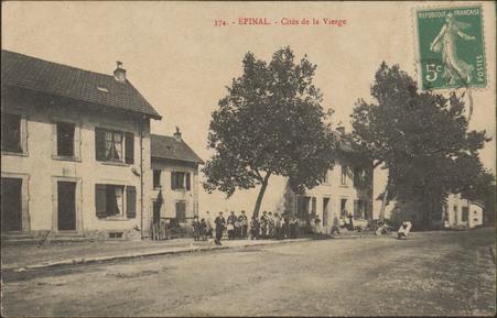 Épinal, Cités de la Vierge