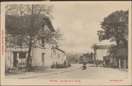 Épinal, La Côte de la Vierge