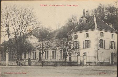 Épinal, École Maternelle, Place Guilgot
