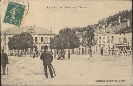 Épinal, Place de la Bourse