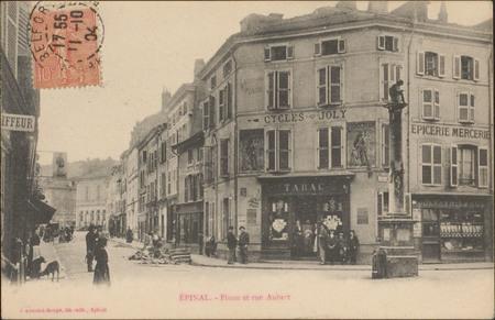 Épinal, Pinau et rue Aubert