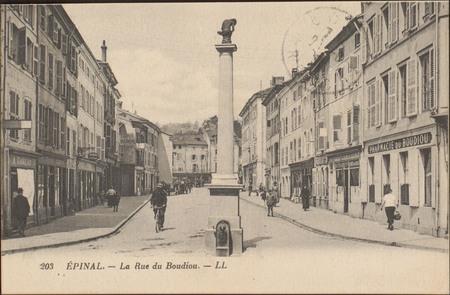 Épinal, La Rue du Boudiou