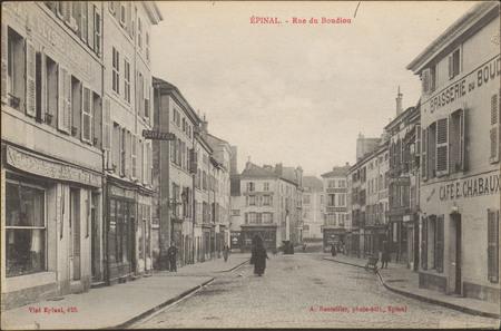 Épinal, Rue du Boudiou