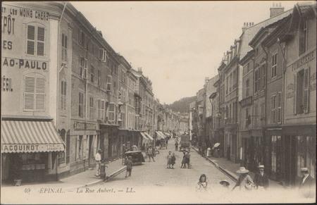 Épinal, La Rue Aubert