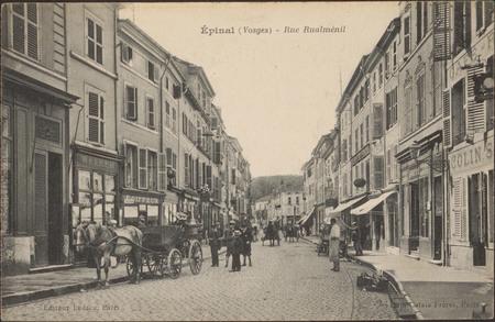 Épinal (Vosges), Rue Rualménil