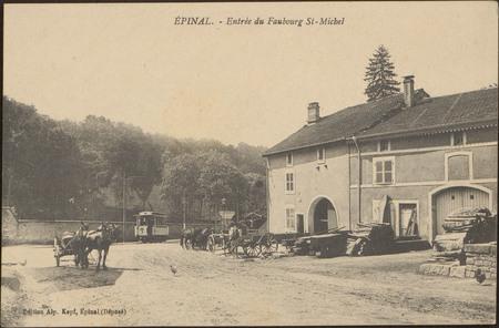 Épinal, Entrée du Faubourg St-Michel
