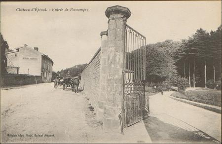 Château d'Épinal, Entrée de Poissompré