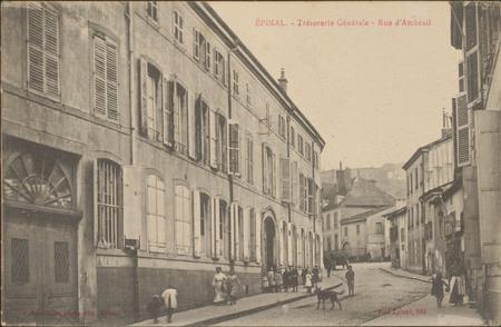 Épinal, Trésorerie Générale, Rue d'Ambrail