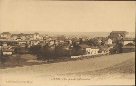 Épinal, Vue générale de Chantraine
