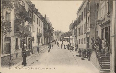 Épinal, La Rue de Chantraine