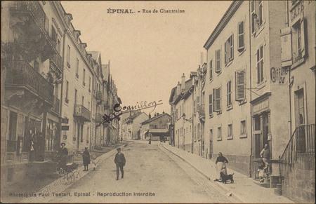 Épinal, Rue de Chantraine