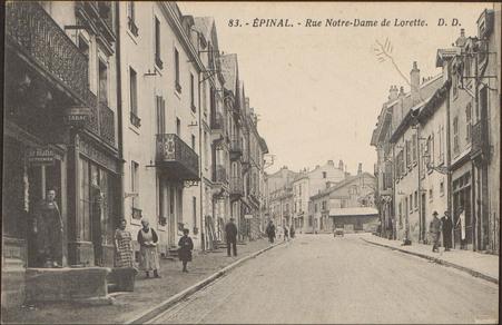 Épinal, Rue Notre-Dame de Lorette