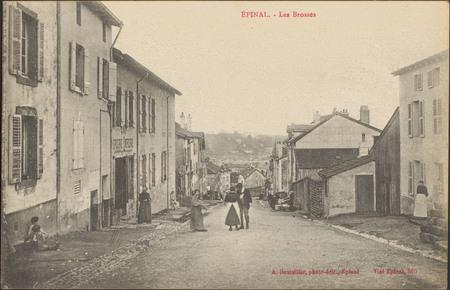 Épinal, Les Brosses