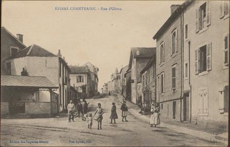 Épinal-Chantraine, Rue d'Olima